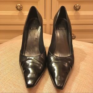 Stuart Weitzman Classic Leather Pumps Made Italy